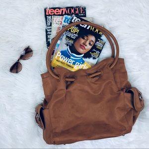 tan boho handbag